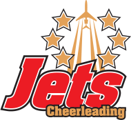 Logo des Jets Cheerleading